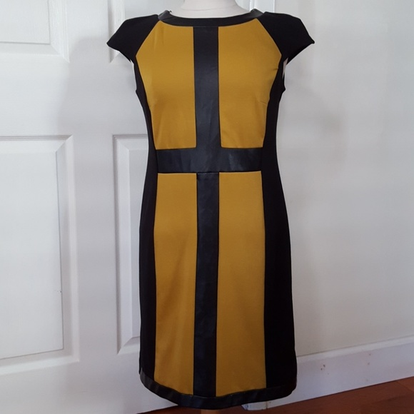 Soho Apparel Dresses & Skirts - ⛪Gold & Black cross dress
